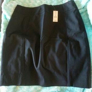 WHBM Black Skirt Size 10